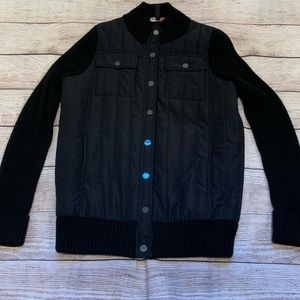BCBG EUC puffy along w/ sweater material jacket ❤️